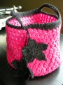 Pink Cotton Lunch Tote