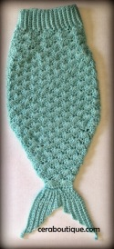 Mermaid Tail Cocoon Robins Egg - Cera Boutique